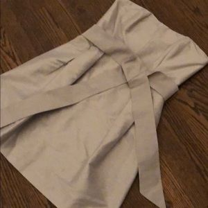 Gray Strapless Dress- Perfect condition!!!
